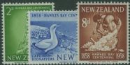 NZ SG768-70 Centenary of Hawkes Bay Province set of 3